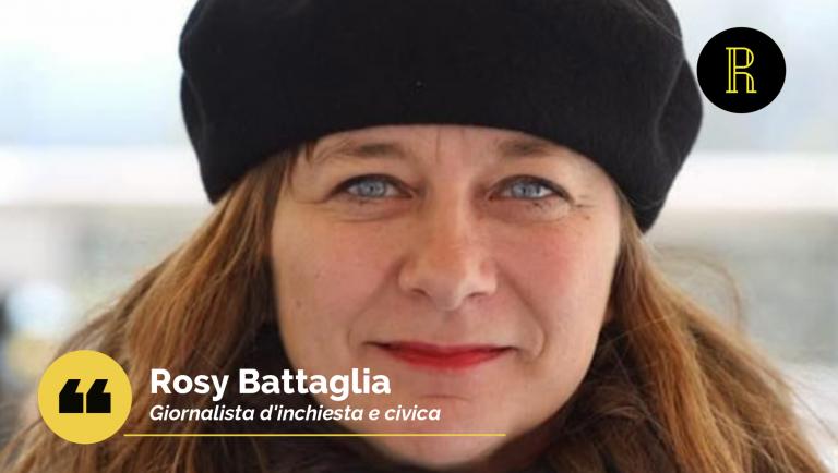 Rosy Battaglia, giormalista d'inchiesta, racconta di battaglie civili, territori e società