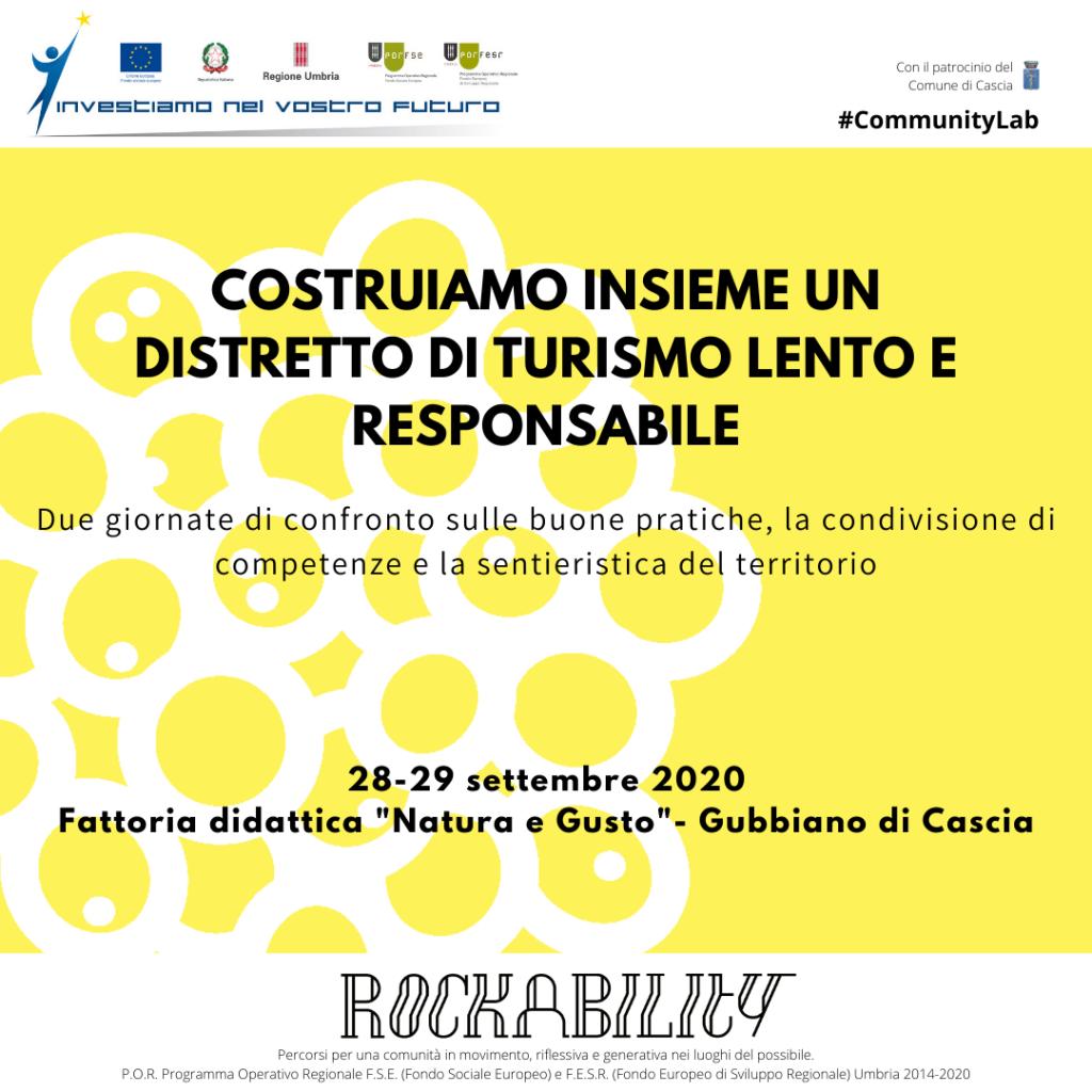 Rockability è partecipazione A CASCIA UN DISTRETTO DI TURISMO LENTO E RESPONSABILE