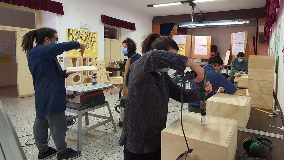 Rockability è comunità Autocostruzione di comunità a Roccaporena